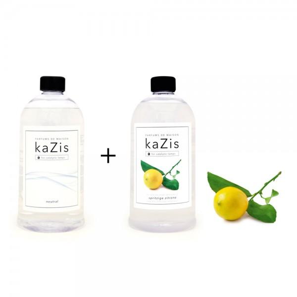 Neutral + Spritzige Zitrone