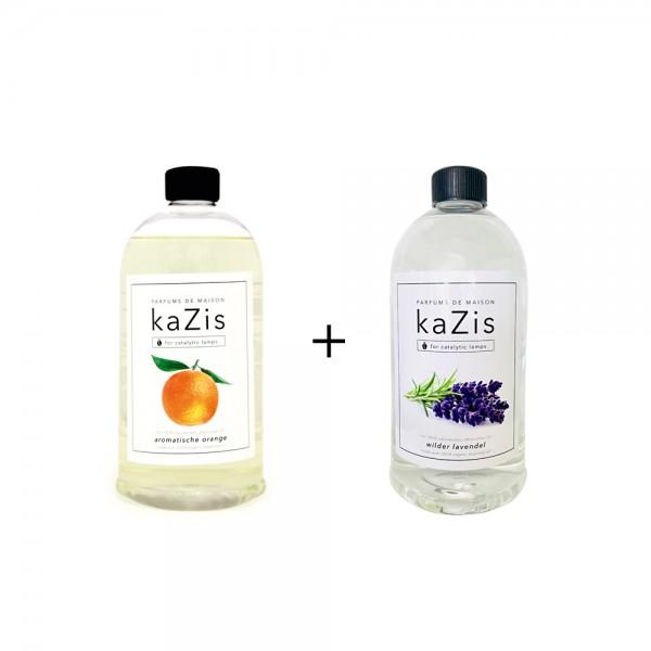 Aromatische Orange + Wilder Lavendel