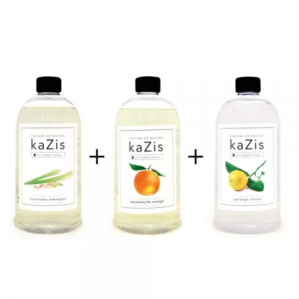 Exotisches Lemongras + Aromatische Orange + Spritzige Zitrone