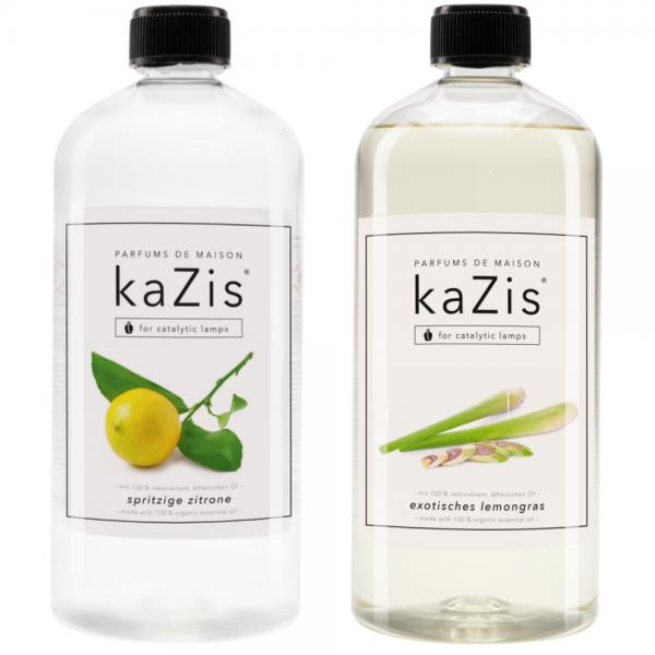 Spritzige Zitrone + Exotisches Lemongras