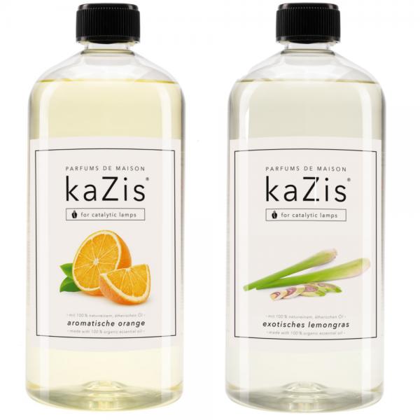 Exotisches Lemongras + Aromatische Orange