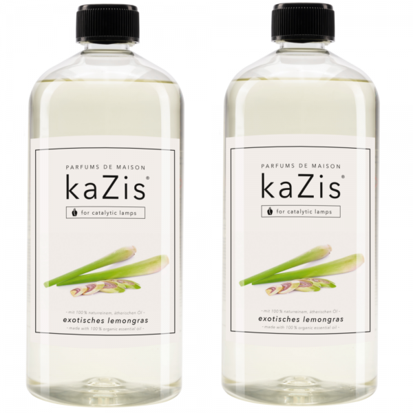 2 x 1 Liter Exotisches Lemongras