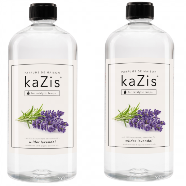 2 x 1 Liter Wilder Lavendel