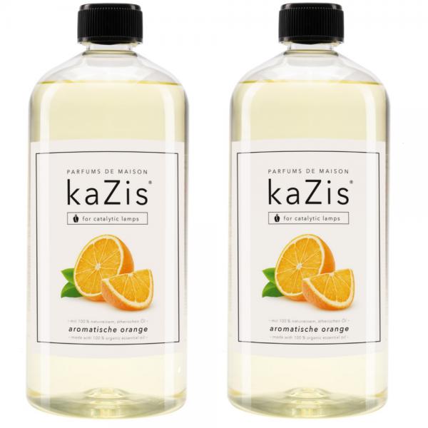 2 x 1 Liter Aromatische Orange
