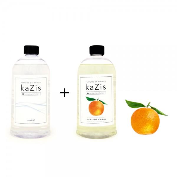 Neutral + Orange