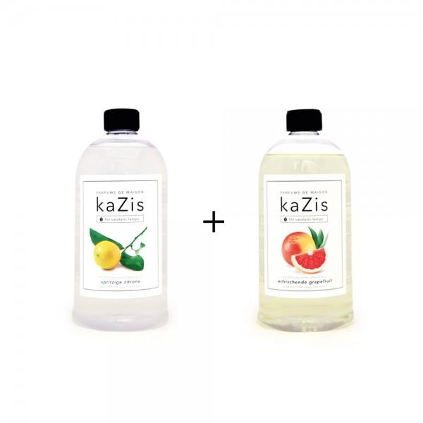 Spritzige Zitrone + Erfrischende Grapefruit