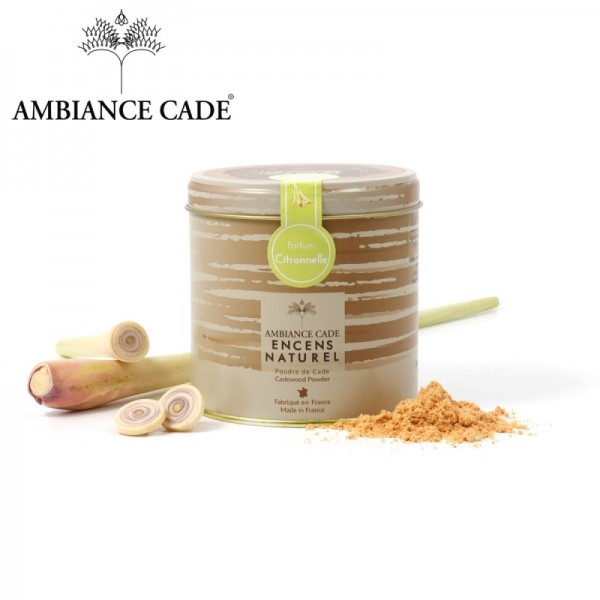 Poudre de Cade - Parfum Citronelle - Lemongrass