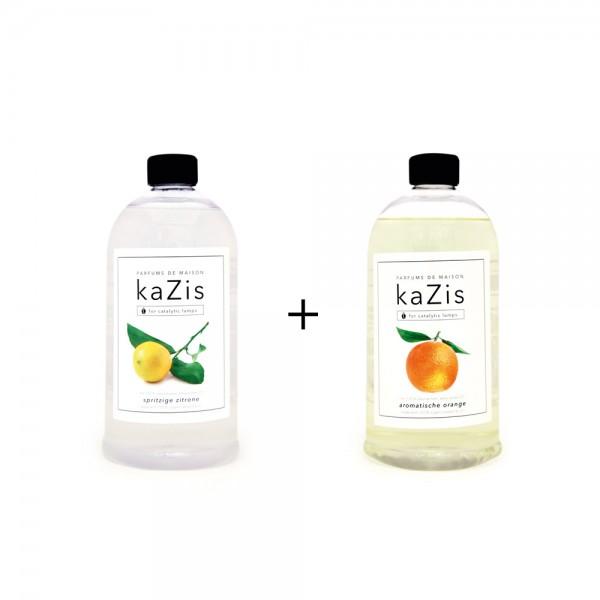Spritzige Zitrone + Aromatische Orange