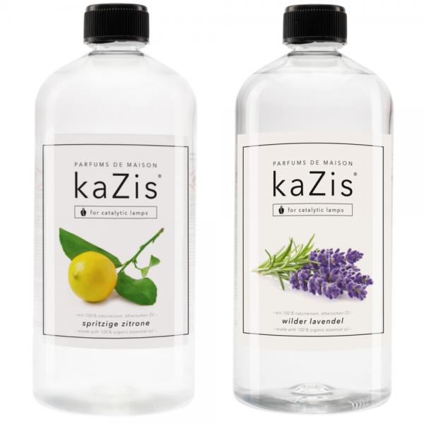 Spritzige Zitrone + Wilder Lavendel