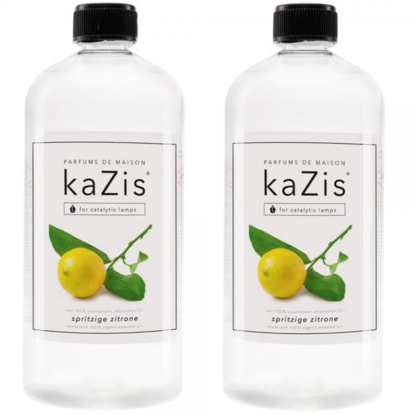 2 x 1 Liter Spritzige Zitrone