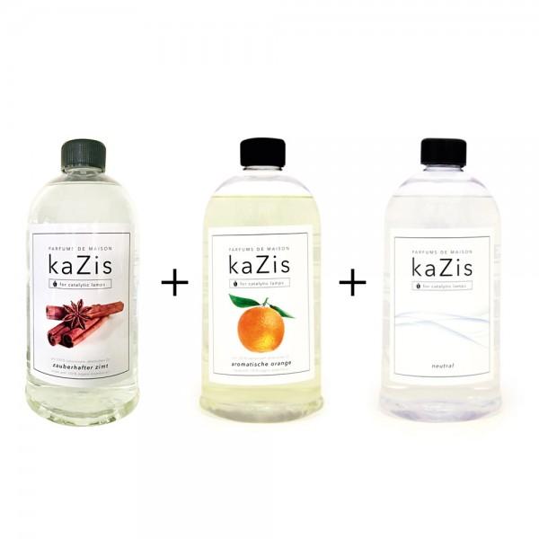 Zauberhafter Zimt + Aromatische Orange + Neutral
