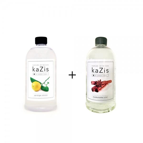 Spritzige Zitrone + Zauberhafter Zimt