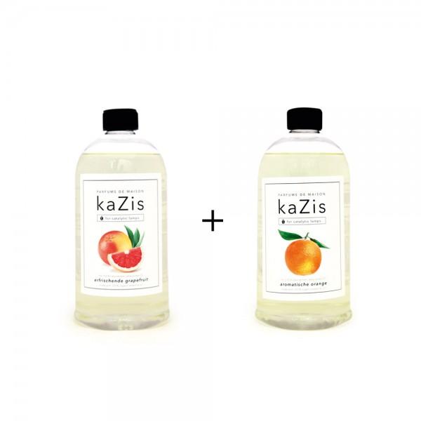 Erfrischende Grapefruit + Aromatische Orange